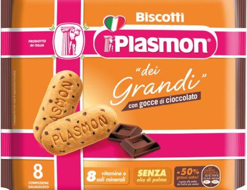 Plasmon lancia i biscotti per i grandi