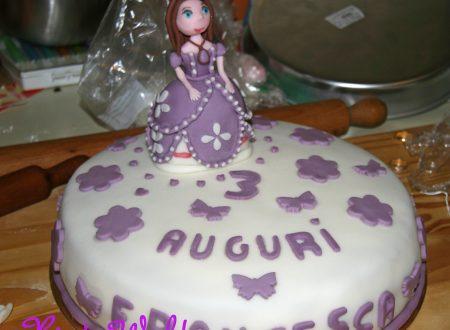 Come fare una torta con Sofia la Principessa in pdz