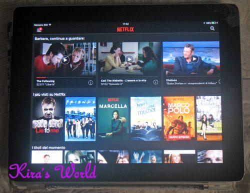 Un anno con Netflix e le serie tv