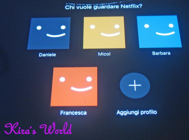 profili su Netflix