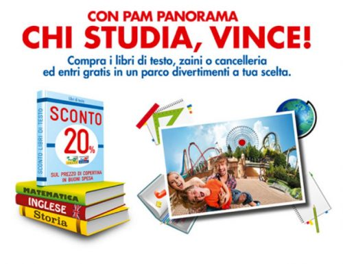 Le iniziative di Pam Panorama per il Back to School