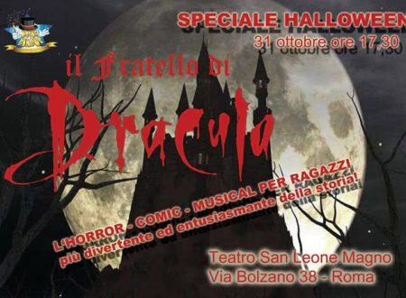 Il fratello di Dracula, ad Halloween un musical per bambini