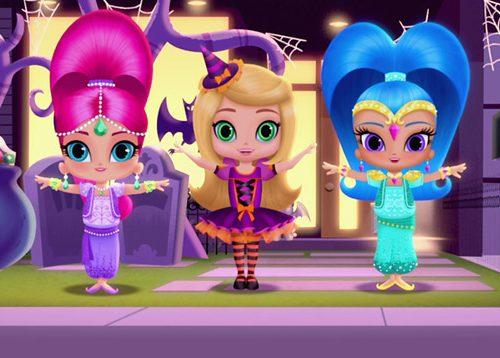 Festeggia Halloween con Nickelodeon, NickJr e Teen Nick