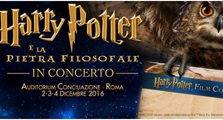 Harry Potter e la Pietra Filosofale in concerto a Roma