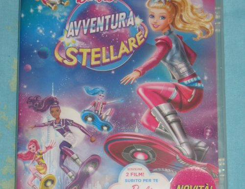 Barbie Avventura Stellare, il dvd in omaggio