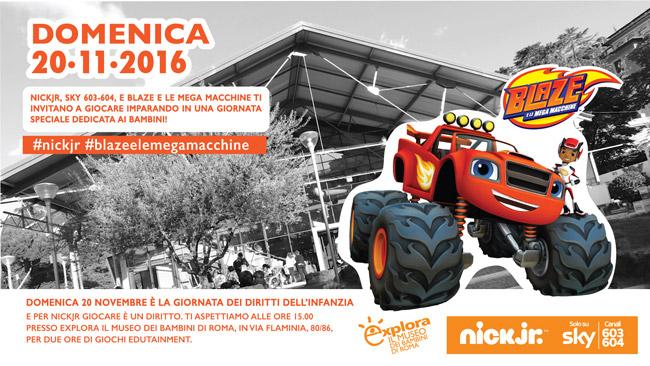 Blaze E Le Mega Macchine Arriva Ad Explora Il 20 Novembre