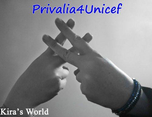 Privalia4Unicef, condividi la tua foto