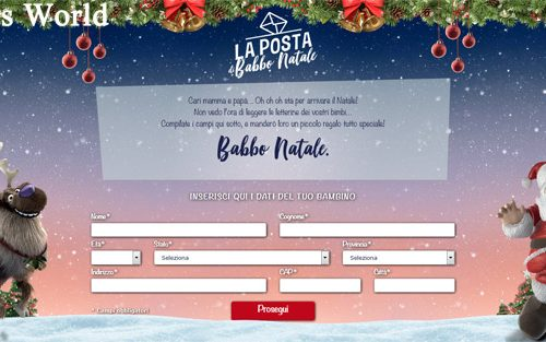 La Posta di Babbo Natale da Poste Italiane