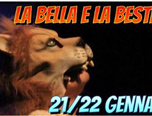 La Bella e la Bestia con la Compagnia Un Teatro da Favola