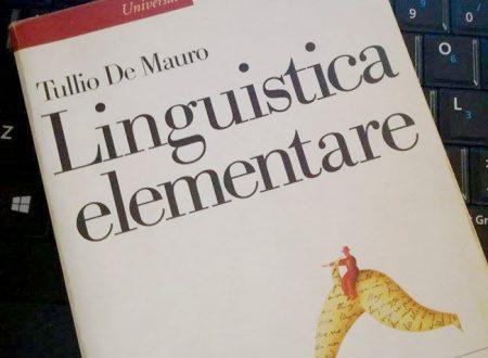 Addio Professor Tullio De Mauro