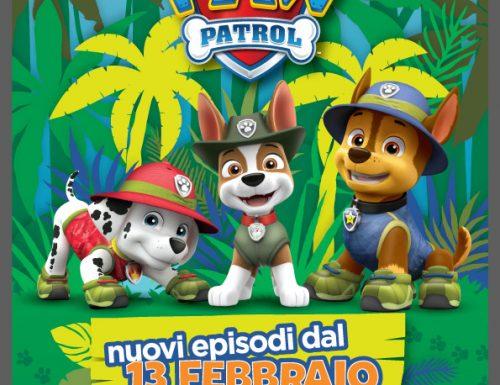 Paw Patrol, debutta il nuovo cucciolo Tracker