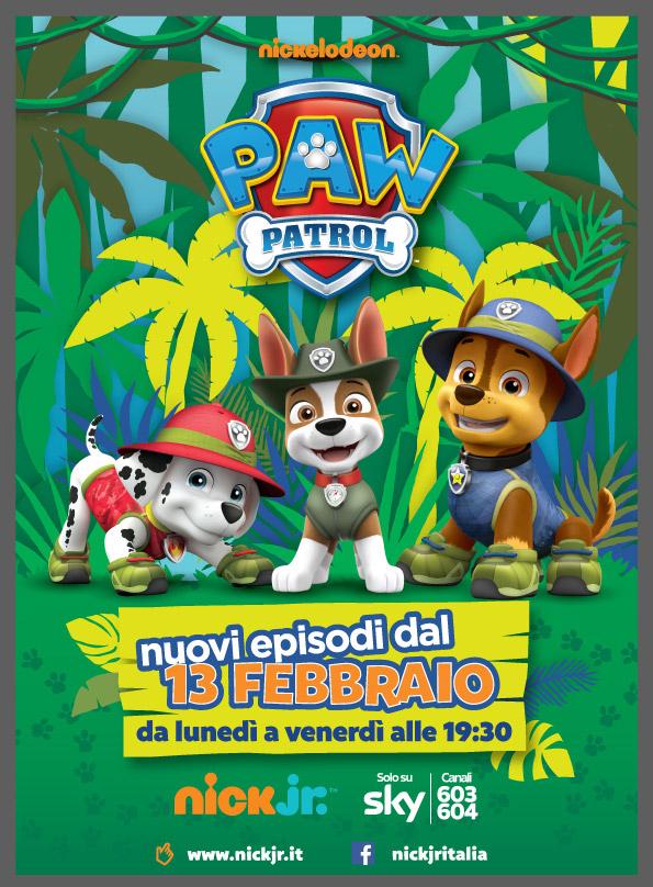 paw patrol, nuova serie