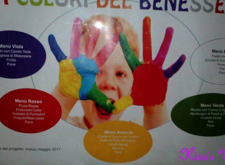 I colori del benessere, menù colorato nelle scuole di Roma