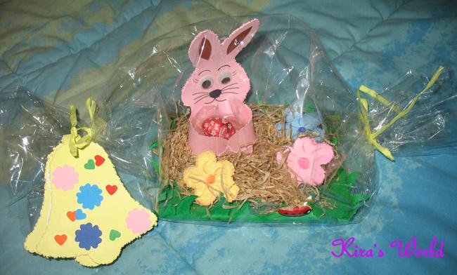 Lavoretto di Pasqua della scuola materna