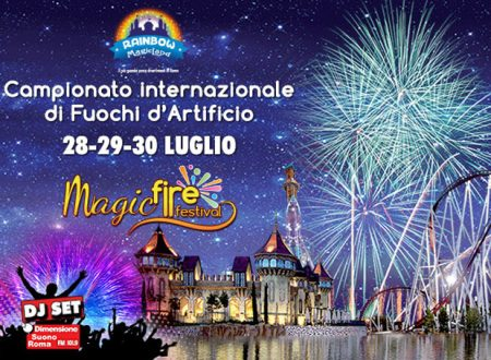 Magic Fire Festival a Rainbow Magicland