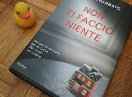 Non ti faccio niente, il libro di Paola Barbato