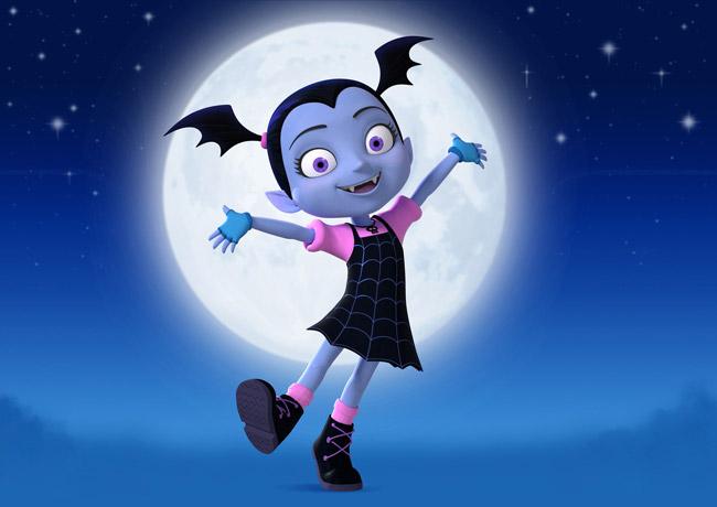 Vee, la protagonista di Vampirina