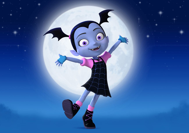 Vampirina la prima famiglia di vampiri arriva su disney junior