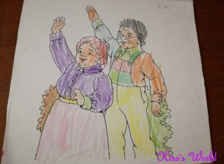 Un quadro per i nonni: lavoretto con poesia