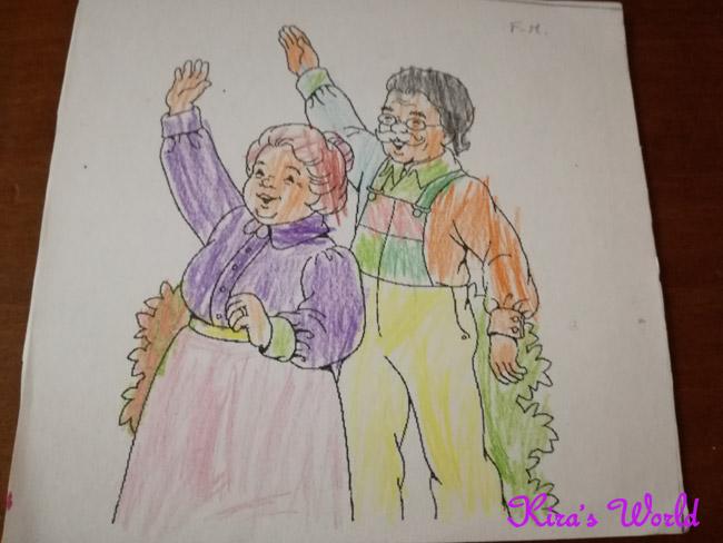 lavoretto per i nonni