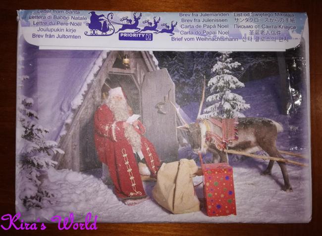 La busta di Babbo Natale