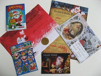 Lettera da Babbo Natale con Santa Post
