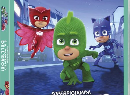 Il trio dei Pj Masks arriva in home video
