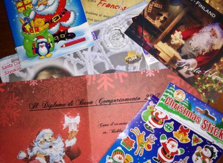 La lettera da Babbo Natale con Santa Post è arrivata