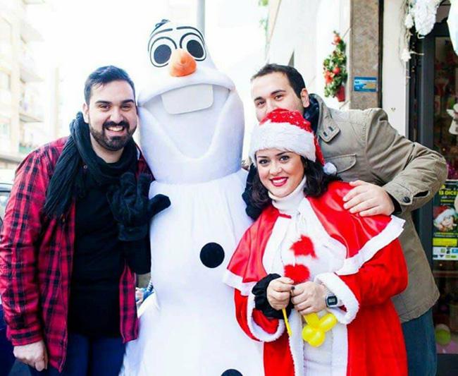 Riccardo, Lorenzo e Alessia