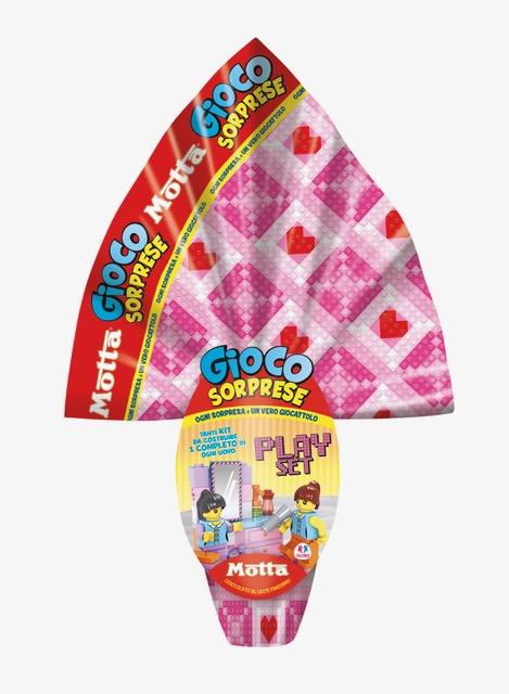 Uova di cioccolato Motta per Globo Giocattoli
