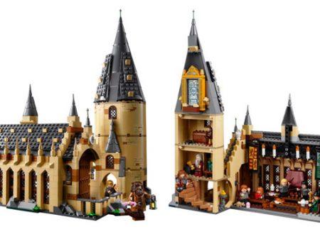 Lego presenta il Castello di Hogwarts