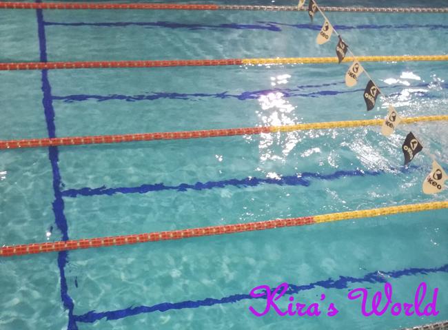 Un anno di nuoto