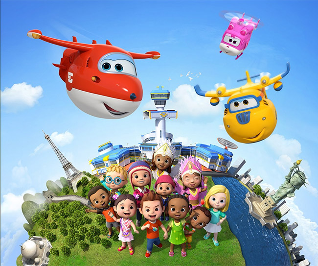 SuperWings su Cartoonito