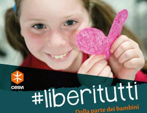 Cesvi lancia la campagna #LiberiTutti contro il maltrattamento dei bambini
