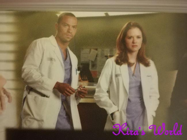 April Kepner e Jackson
