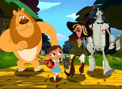 Dorothy e le Meraviglie di Oz arrivano su Cartoonito