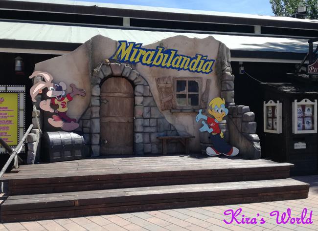 L'ingresso a Mirabilandia