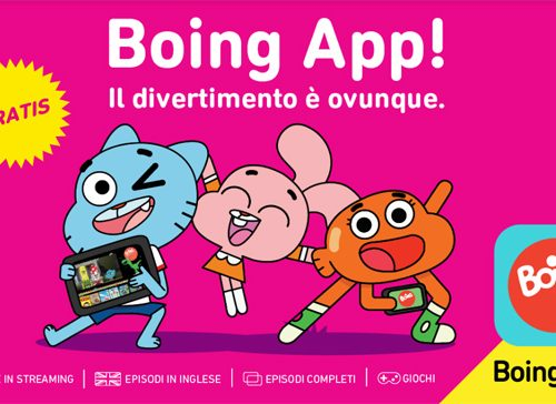 Boing App, l'app gratuita per guardare i cartoni e giocare