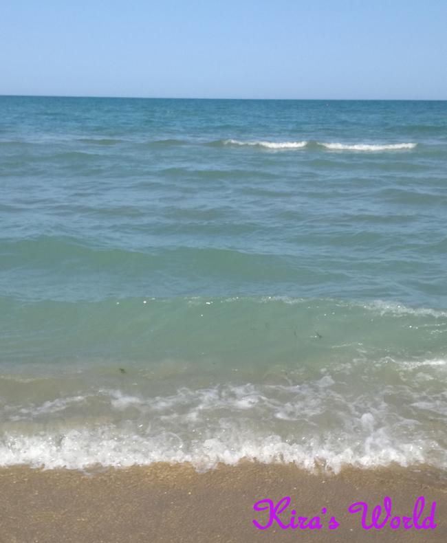 Il mare alla fine delle vacanze