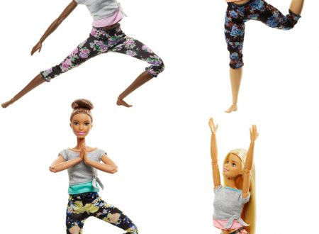 Barbie Snodata, la bambola per giocare a fare sport