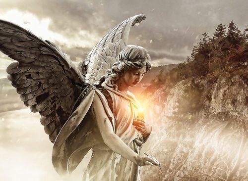 Angeli, vita e morte: le curiosità di una bambina