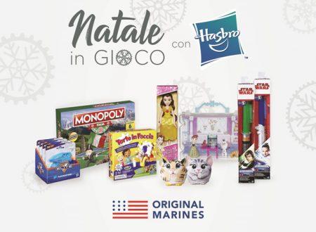 Natale in gioco, l'iniziativa di Original Marines per le feste