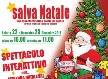 Babbo e gli Elfi salva Natale, lo spettacolo di Piano Zero Teatro