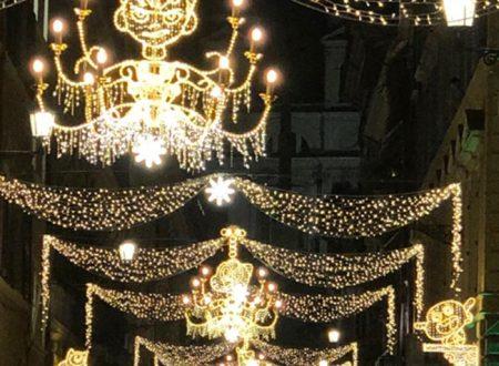 Cartoon Christmas Lights a Roma