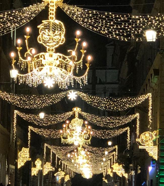 Cartoon Christmas Lights