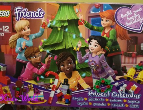 Calendario dell'Avvento Lego Friends: i video