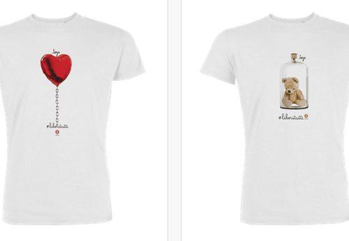 Cesvi #LiberiTutti: come acquistare le t-shirt