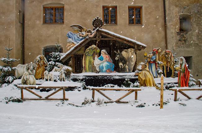 Presepe per la recita di Natale