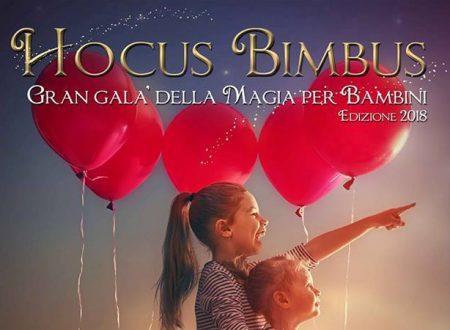 Hocus Bimbus, lo spettacolo di magia per bambini