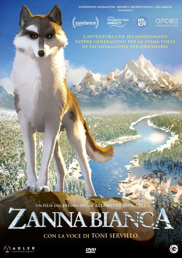 Zanna Bianca, il dvd